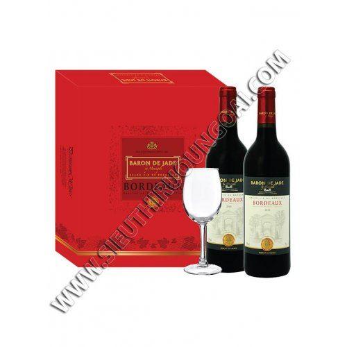 Bordeaux Baron de Jade Gift box 2014