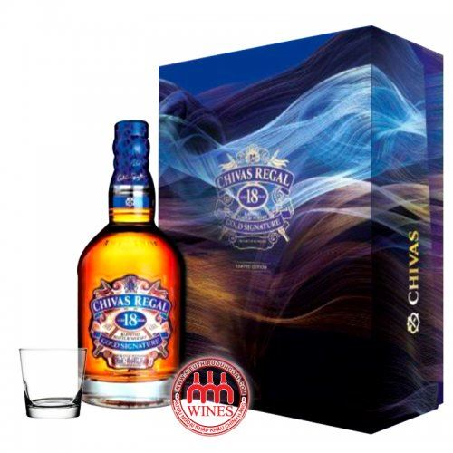 Chivas Regal 18YO gift box New