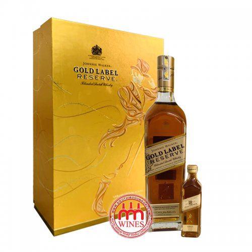 Johnnie Walker Gold Label gift box 2019