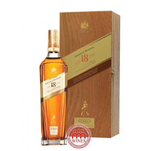 Johnnie Walker 18 YO gift box Hộp gỗ