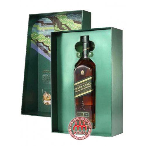 Rượu Johnnie walker Green label Gift box