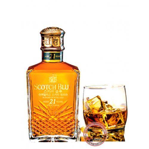 Whisky Scotch Blue - 21yo (Thanh Lý)