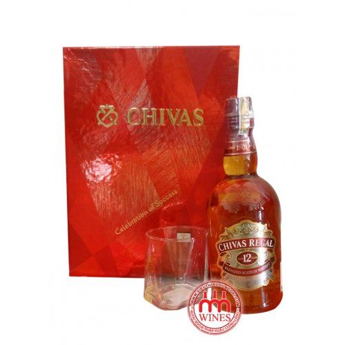 Chivas Regal 12yo Gift box Hộp quà 2018