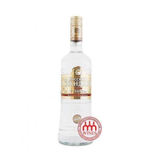 Russia Standard Vodka gold