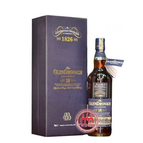Glendronach 18 years Gift Box 2016