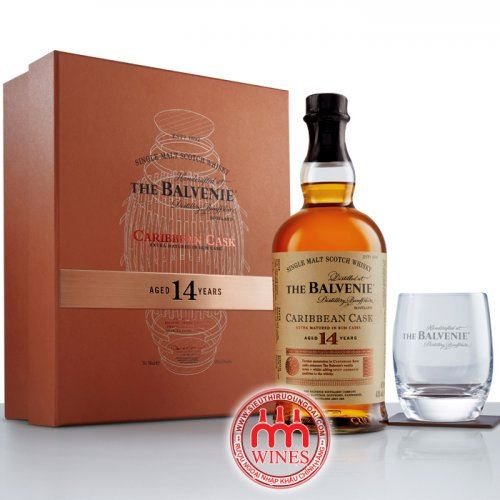The Balvenie 14YO Caribbean Cask Gift box