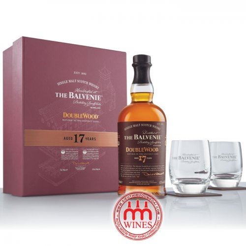 The Balvenie 17 yo Gift box