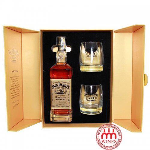 Jack Daniel's No.27 Gold Whiskey Gift box