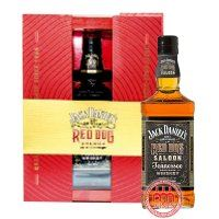 Jack Daniel Red Dog Saloon Gift box