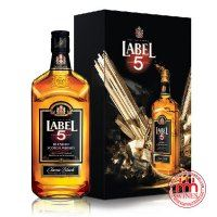Label 5 Classic Black Gift box 700ml
