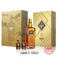 Label 5 Gold Gift box