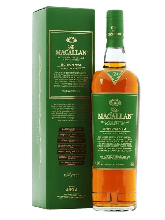 Top 6 mẫu rượu macallan hộp quà 2019 siêu sang