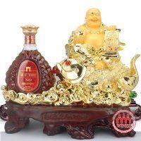 Kệ Phật Di Lạc kèm Rượu Brandy XO