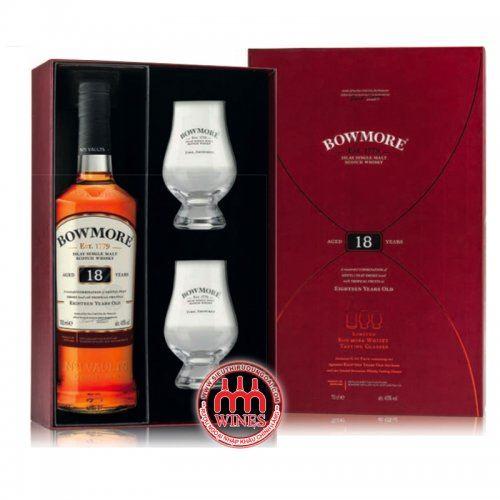 Bowmore 18yo Gift box
