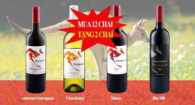 quà tặng vang Úc kangaroo