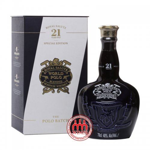 Chivas Royal Salute 21 Year Old World Polo Edition