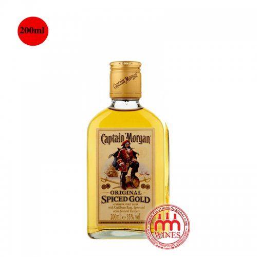 Captain Morgan Gold Spiced 200ml