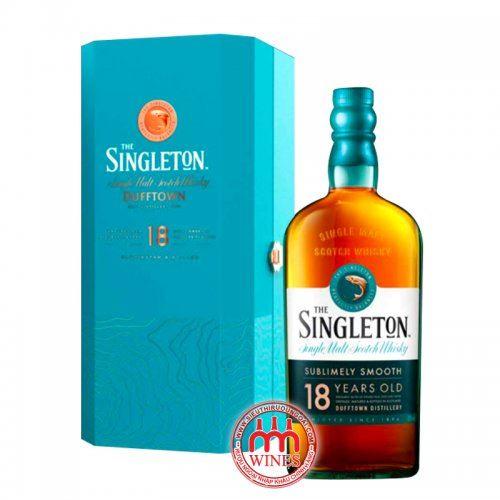 Singleton 18 YO Gift box 2021 (Hộp gỗ)
