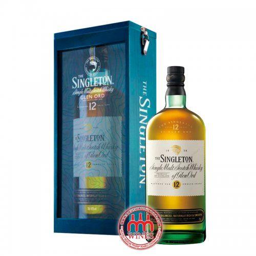 Singleton 12 YO Gift box (hộp gỗ)
