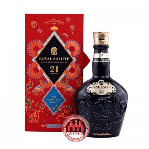 Royal Salute 21YO Signature Blend Red New Year