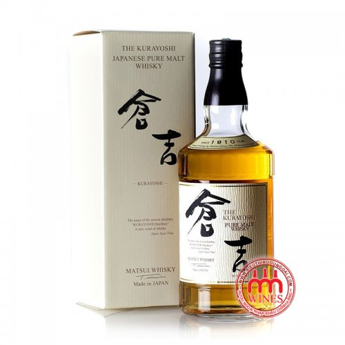Whisky Pure malt Matsui Kurayoshi