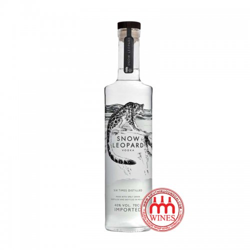 Snow Leopard Luxury Vodka