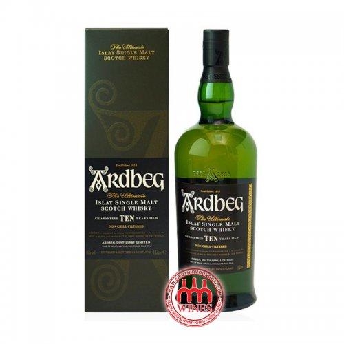 Ardbeg 10YO Single Malt Islay Whisky 1000ml