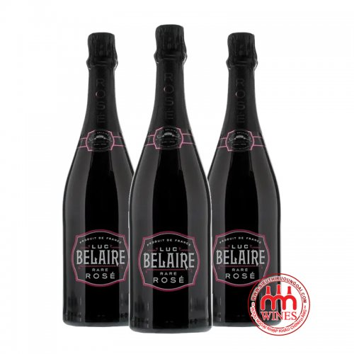 Champagne Pháp Luc Belaire Rose Sparkling